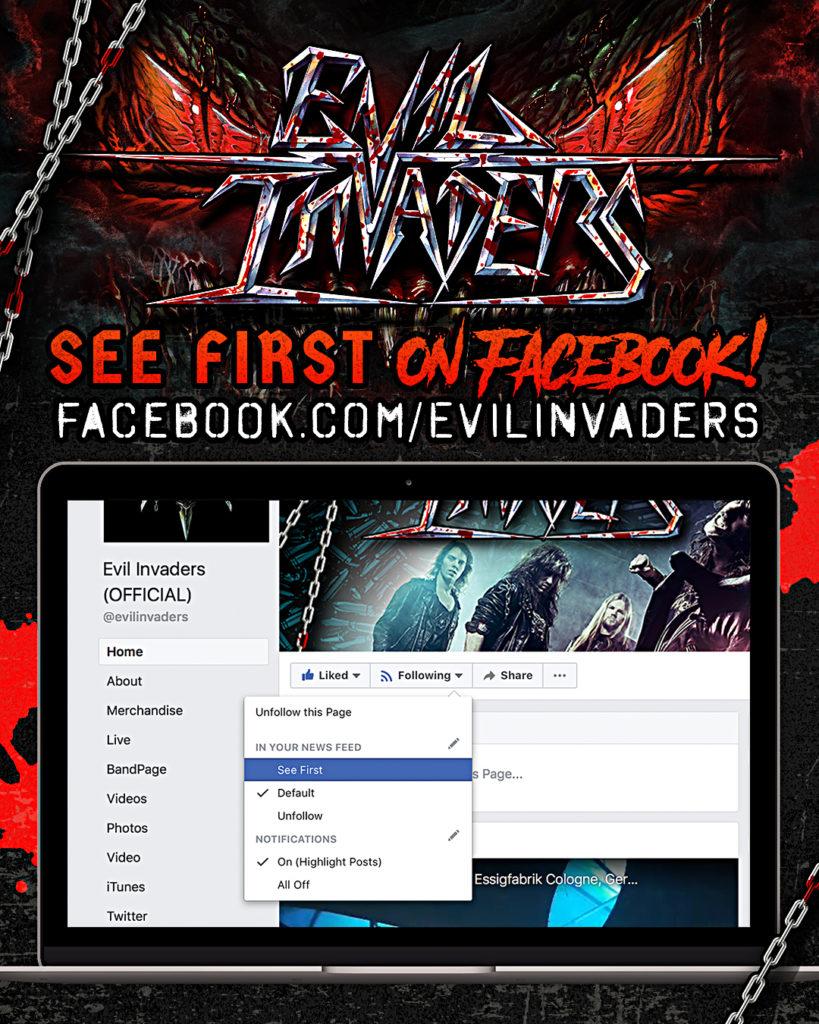 Evil Invaders Facebook Promotion