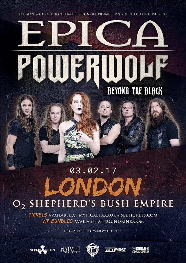 Epica & Powerwolf Headline Poster