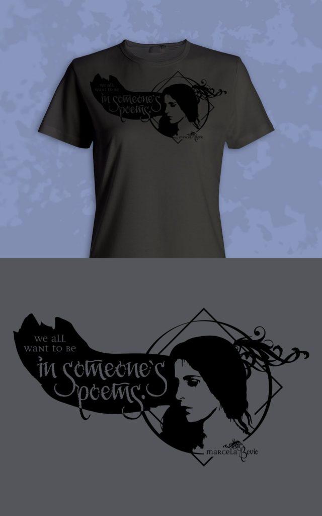 "Marcela Bovio ""Unprecedented"" Shirt Design"